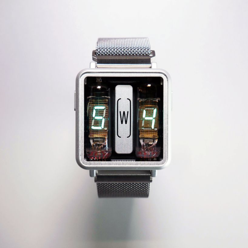 This Wrist Watch With Nixie Tubes Is New Awesome